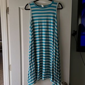 Striped dress with pockets